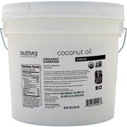 NUTIVA Organic Virgin Coconut Oil Liquid 128 fl.oz