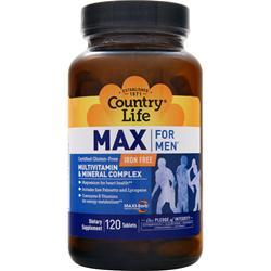 Country Life Max for Men - Maxi-Sorb 120 tabs
