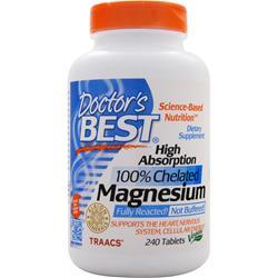 DOCTOR'S BEST High Absorption Magnesium 240 tabs