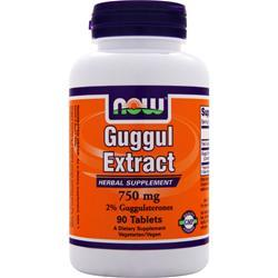 NOW Guggul Extract (750mg) 90 tabs