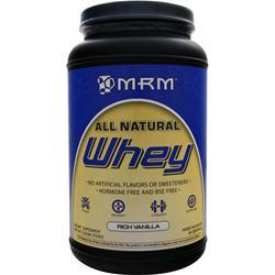 MRM 100% All Natural Whey Rich Vanilla 2.02 lbs
