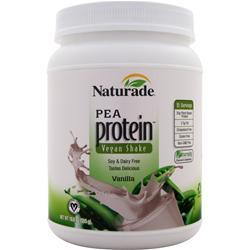 Naturade All Natural Pea Protein - Vegan Formula Vanilla 19.6 oz