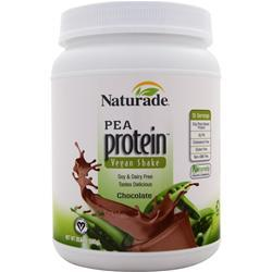 NATURADE All Natural Pea Protein - Vegan Formula Chocolate 20.64 oz