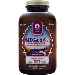 GENESIS TODAY Omega 3-6-7-9 Superfruit & Seed Oils 180 sgels