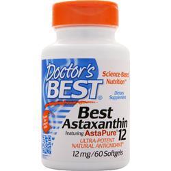 Doctor's Best Best Astaxanthin (12mg) 60 sgels
