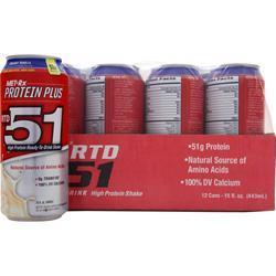 MET-RX RTD 51 Creamy Vanilla 12 cans