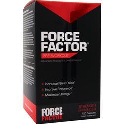 Force Factor Force Factor - Pre Workout  BEST BY 6/17 120 caps