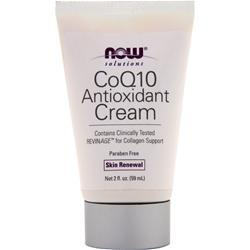 Now CoQ10 Antioxidant Cream 2 fl.oz
