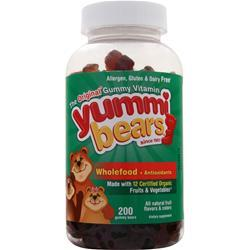 Yummi Bears Whole Food plus Antioxidants 200 bears