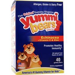 YUMMI BEARS Echinacea plus Vitamin C & Zinc 40 bears