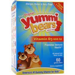 YUMMI BEARS Vitamin D3 60 bears