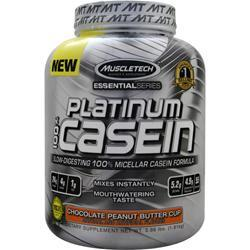 MUSCLETECH Essential Series - Platinum 100% Casein ChocolatePeanutButterCup 3.98 lbs