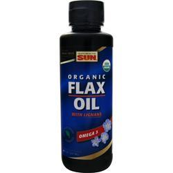 HEALTH FROM THE SUN Organic Flax Oil with Lignans 8 fl.oz