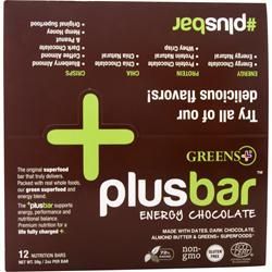 GREENS PLUS Plus Bar Protein Whey Krisp 12 bars