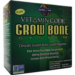 GARDEN OF LIFE Vitamin Code - Grow Bone System 1 kit