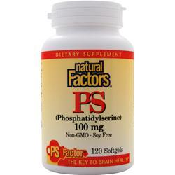 Natural Factors PS (100mg) 120 sgels