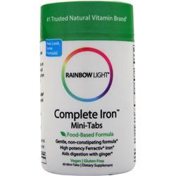 Rainbow Light Complete Iron Mini-Tabs 60 tabs