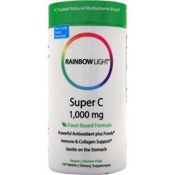 RAINBOW LIGHT Super C - Food Based (1,000mg) 120 tabs