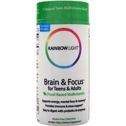 Rainbow Light Brain & Focus Multivitamin 90 tabs