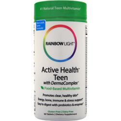 Rainbow Light Active Health Teen Multivitamin (Food-Based) 90 tabs