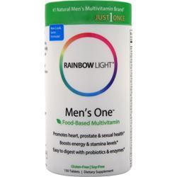 RAINBOW LIGHT Just Once Men's One Multi 150 tabs