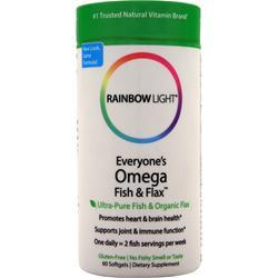 RAINBOW LIGHT Just Once - Everyone's Omega Fish & Flax Oil 60 sgels