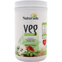 NATURADE Veg Protein Booster Natural 26.4 oz