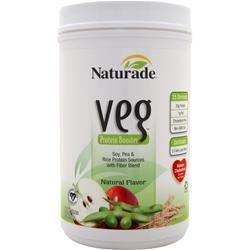 NATURADE Veg Protein Booster Natural 26.4 oz
