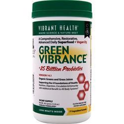 VIBRANT HEALTH Green Vibrance Powder 12.8 oz