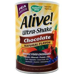 Nature's Way Alive Multivitamin - Ultra Shake Pea Protein Chocolate 2.2 lbs
