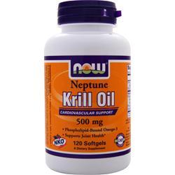 NOW Neptune Krill Oil (500mg) 120 sgels