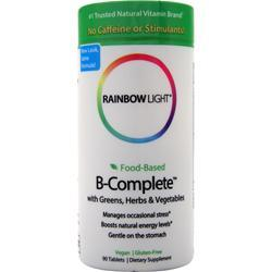 RAINBOW LIGHT Food Based B-Complete 90 tabs