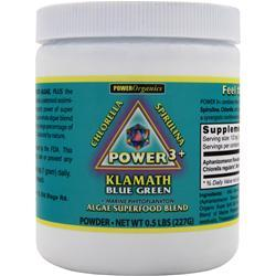Klamath Power 3+ Blue Green Powder .5 lbs