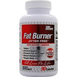 TOP SECRET NUTRITION Fat Burner Jitter Free 90 caps