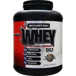 Scivation Whey Powder Vanilla 4.5 lbs