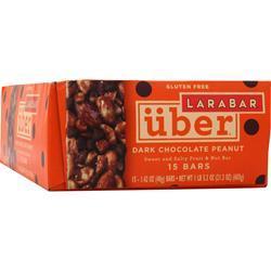 LARA BAR LaraBar Uber - Sweet and Salty Fruit & Nut Bar Dark Chocolate Peanut 15 bars