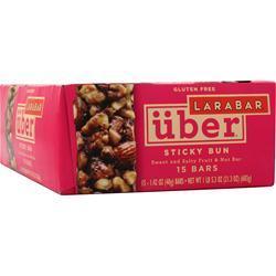 Lara Bar Uber Sweet and Salty Fruit & Nut Bar Sticky Bun 15 bars