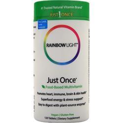 Rainbow Light Just Once Multivitamin 120 tabs