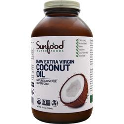 SUNFOOD Extra Virgin Coconut Oil 24 fl.oz