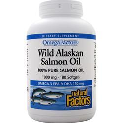 Natural Factors Salmon Oil 1000mg 180 sgels