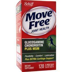 Schiff Move Free Joint Health - Glucosamine Chondroitin Plus MSM 120 tabs