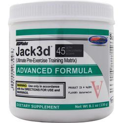 USP Labs Jack3d - Advanced Formula Watermelon EXPIRES 10/17 8.1 oz