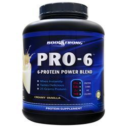 BodyStrong Pro-6 Protein Power Blend Vanilla 5 lbs