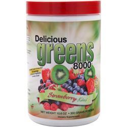 Greens World Delicious Reds 8000 Strawberry Kiwi 300 grams