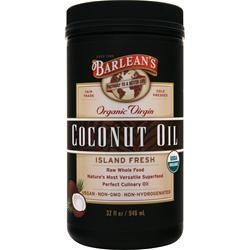 BARLEAN'S Organic Virgin Coconut Oil 32 fl.oz