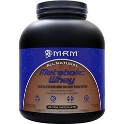 MRM Metabolic Whey - 100% Premium Whey Protein Dutch Chocolate 5 lbs