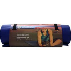 Harbinger Ribbed Durafoam Mat Anti-Microbial 5/8 Blue 1 unit