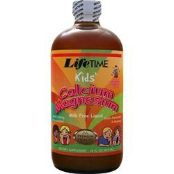 Lifetime Liquid Calcium Magnesium Citrate Kids Bubble Gum 16 oz