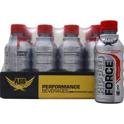 American Bodybuilding Ripped Force RTD Fruit Punch 12 bttls