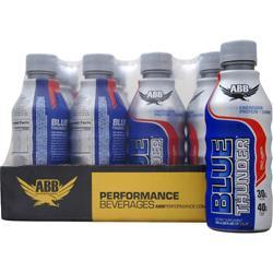 American Bodybuilding Blue Thunder RTD Fruit Punch 12 bttls